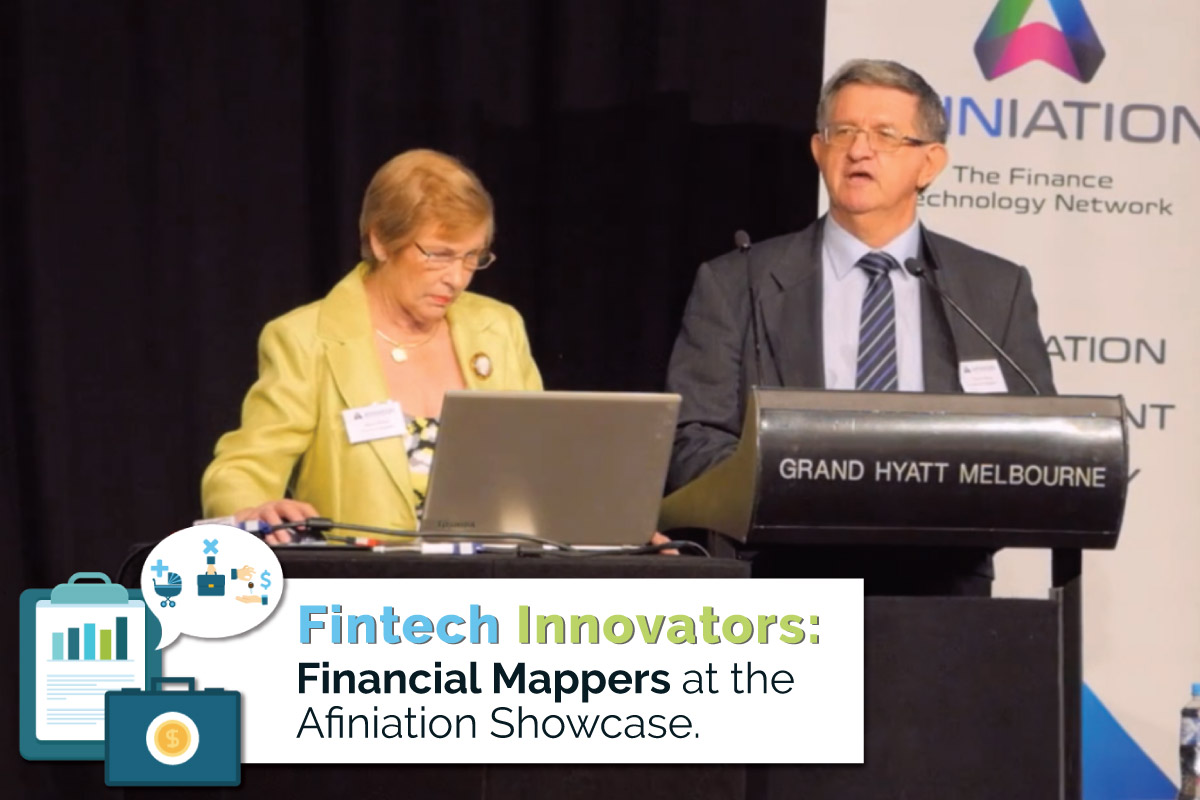 Fintech innovators: Financial mappers at Affiniation Showcase