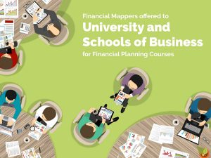 Financial Mappers offered to University, Schools of Business for Financial Planning Courses