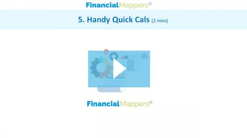 Financial Mappers Handy Quick Cals