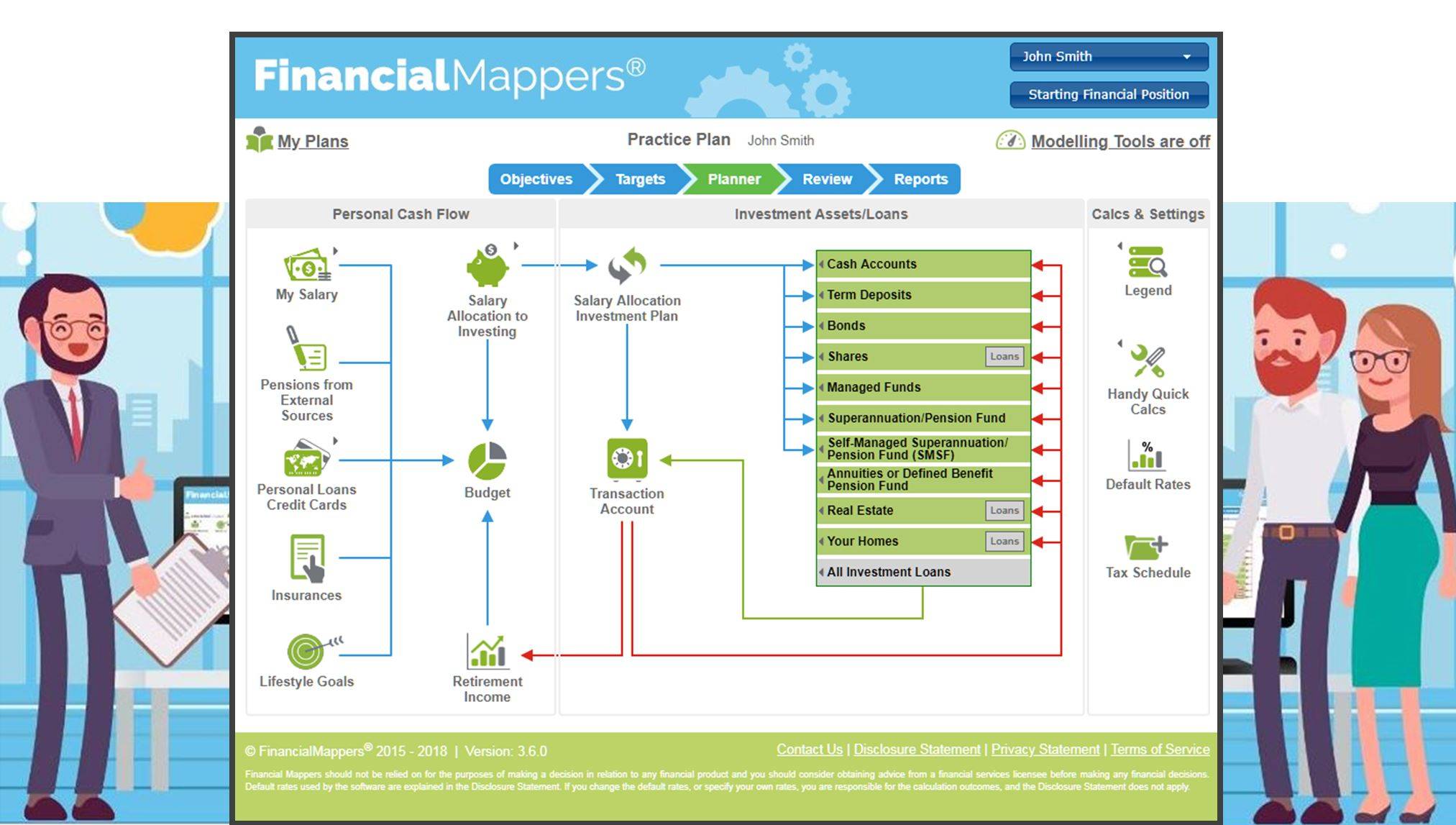 Financial Mappers Pro for Advisers, Mortgage Brokers and Accountants