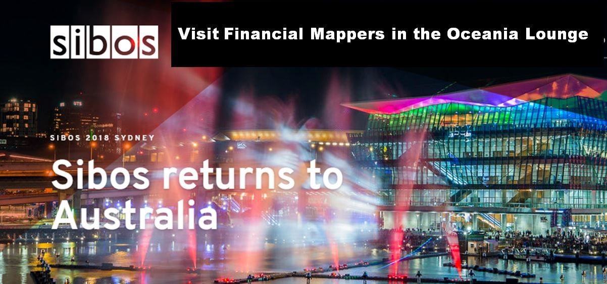 Financial Mappers exhibits at SIBOS