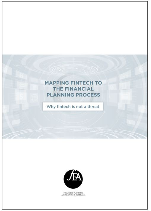 Mapping Fintech to the Financial Planning Process