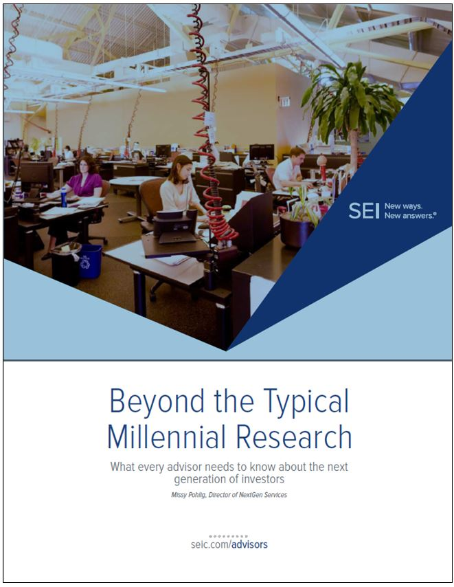Beyond the typical millennial what every advisor needs to know about the next generation of investors