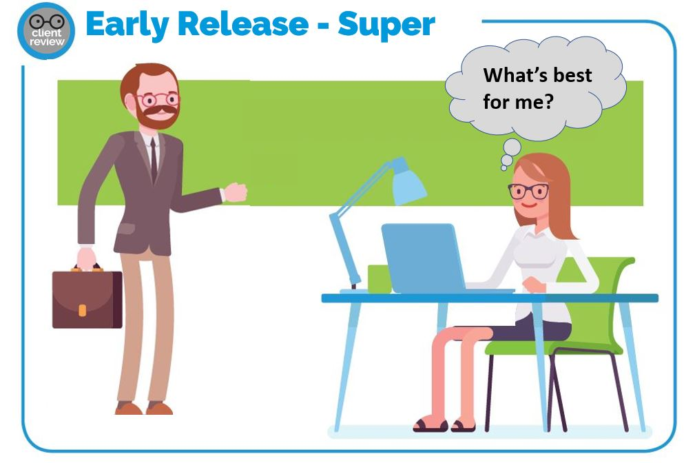 early release of super